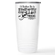 Austin Texas Travel Mug