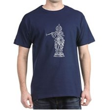 Krishna Outline T-Shirt