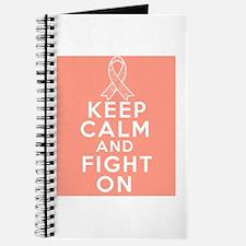 Uterine Cancer Keep Calm Fight On Journal