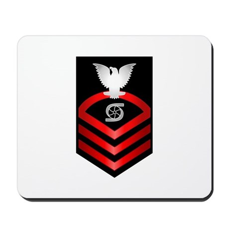 Navy Chief Gas Turbine System Technician Mousepad