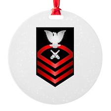 Navy Chief Gunner's Mate Ornament