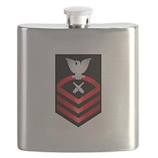 Navy Chief Gunner's Mate Flask