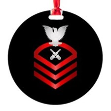 Navy Chief Gunner's Mate Ornament