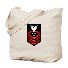Navy Chief Hull Maintenance Technician Tote Bag
