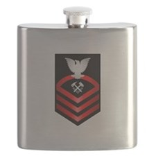 Navy Chief Hull Maintenance Technician Flask