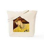 Sancta Lilias by Rossetti Tote Bag