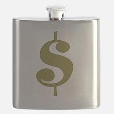 Dollar Sign Flask