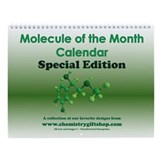 Periodic table Wall Calendars