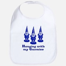 Hanging with my Gnomies Bib