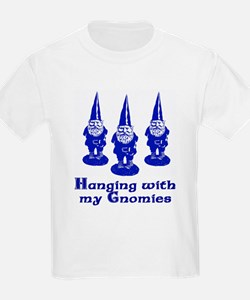 Hanging with my Gnomies Kids T-Shirt