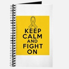 Childhood Cancer Keep Calm Fight On Journal