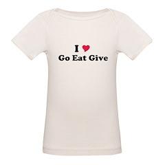 I love Go Eat Give Tee