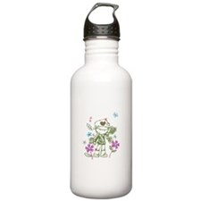 Go Eat Give Sports Water Bottle