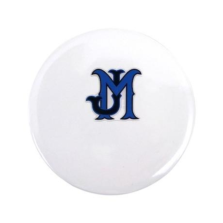 """JM Logo 3.5"""" Button"""