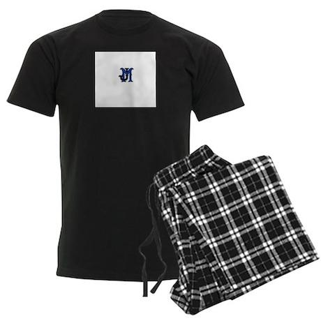 JM Logo Men's Dark Pajamas