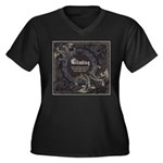 Place Well Thy Protection Women's Plus Size V-Neck