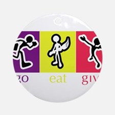 Go Eat Give logo Ornament (Round)