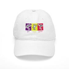 Go Eat Give logo Baseball Baseball Cap