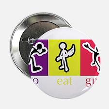 """Go Eat Give logo 2.25"""" Button"""