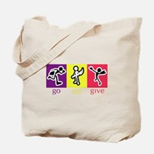Go Eat Give logo Tote Bag