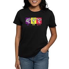 Go Eat Give logo Tee