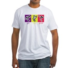 Go Eat Give logo Fitted T-Shirt