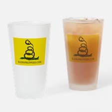 Radio Preppers Drinking Glass