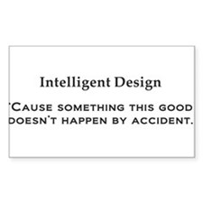 Intelligent Design black Decal