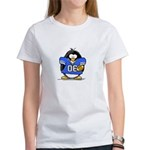 Blue Football Penguin Women's T-Shirt