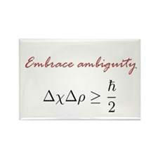 Embrace Ambiguity Rectangle Magnet