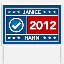 Janice Hahn Yard Sign