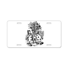 Playing Cards in Alice in Wonderland Aluminum Lice