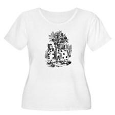 Playing Cards in Alice in Wonderland T-Shirt