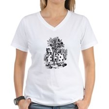 Playing Cards in Alice in Wonderland Shirt
