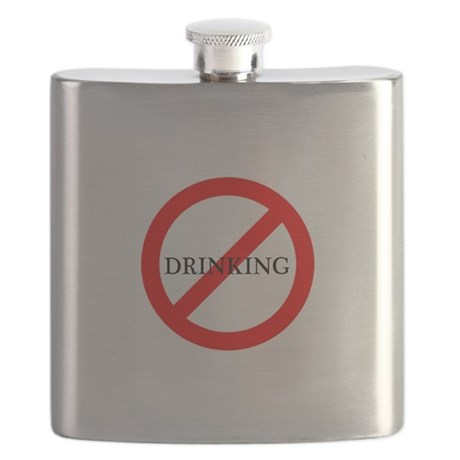 No Drinking Flask