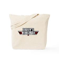 Daddy's Wingman Tote Bag