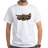 Cincinnati brass band Mens White T-shirts