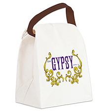 Gypsy Coffee Co. Logo Canvas Lunch Bag
