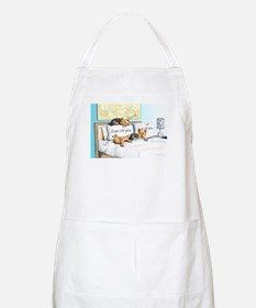 Sleeps with Yorkies Apron