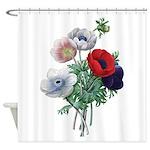 Poppy Anemones Shower Curtain