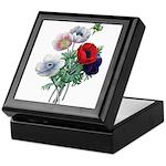 Poppy Anemones Keepsake Box