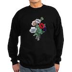 Poppy Anemones Sweatshirt (dark)