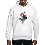 Poppy Anemones Hooded Sweatshirt