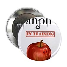 "Fanpire In Training 2.25"" Button"