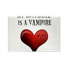 My Boyfriend Is A Vampire Rectangle Magnet