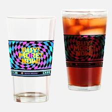 Mass Media 2 too (dark) Drinking Glass