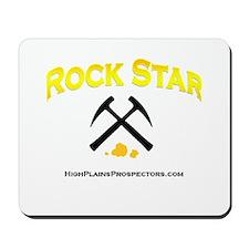 Rock Star Prospector Mousepad