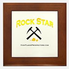 Rock Star Prospector Framed Tile