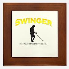 Swinger Metal Detector Framed Tile