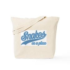 Retro Snakes On A Plane Tote Bag